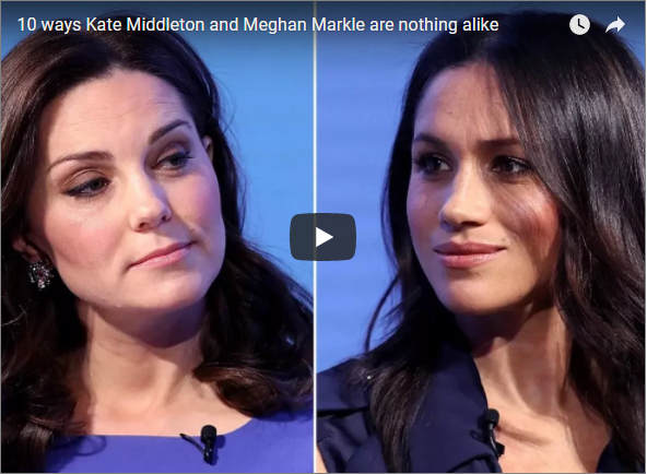 10 ways Kate Middleton and Meghan Markle are nothing alike