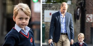 37 Prince William Catherine Duchess of Cambridge Prince George and Princess Charlotte Family Photos C GETTY IMAGES