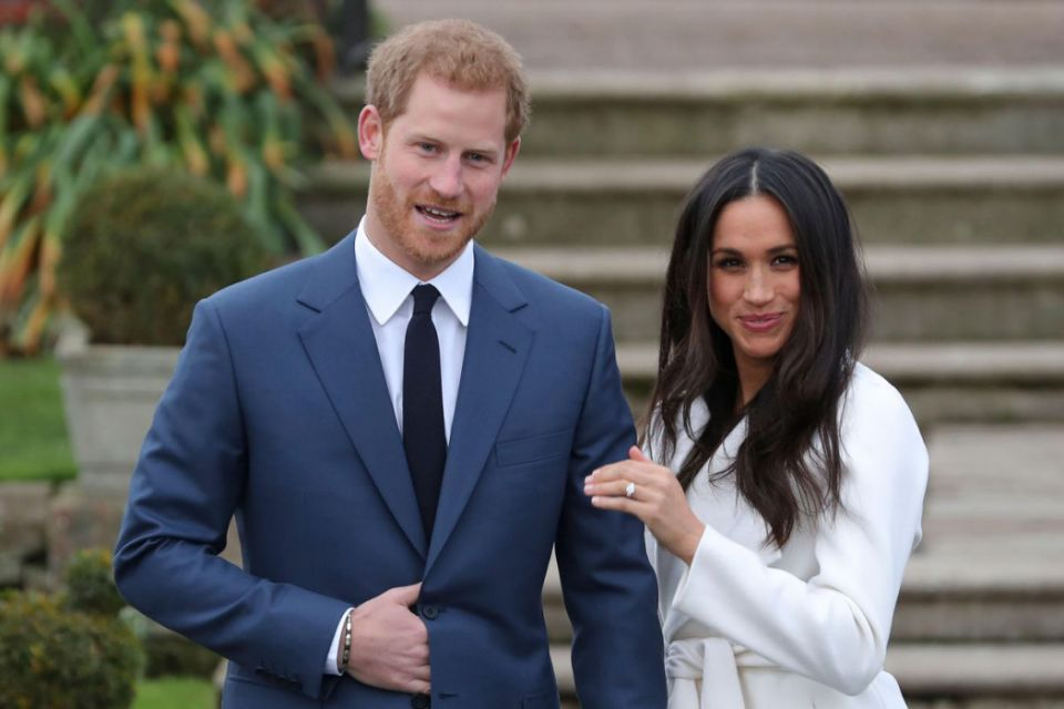 Prince Harry and Meghan Markle Photo (C) GETTY