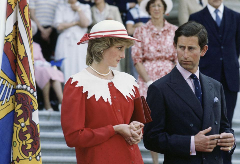 A bombshell book claims Charles became paranoid of Di in his pursuit of the throne. Photo Getty