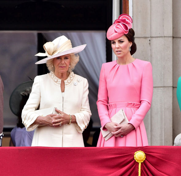 Camilla reportedly 'doesn't give a damn' about the presence of Kate Photo (C) GETTY
