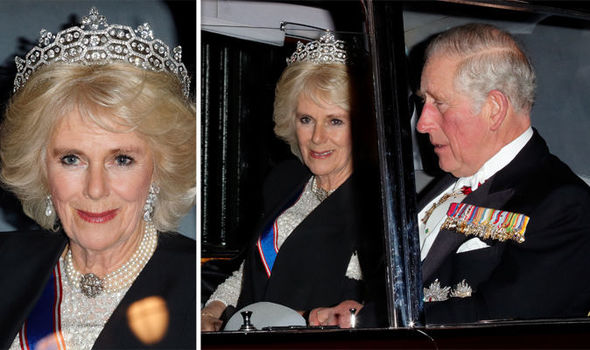 Camilla thinks she will be Queen when her husband Charles takes to the throne Photo (C) GETTY
