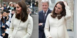Catherine Duchess of Cambridge Hands Body Language Photo (C) TWITTER