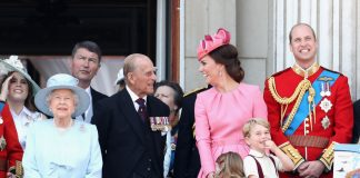 Catherine Duchess of Cambridge Prince Philip
