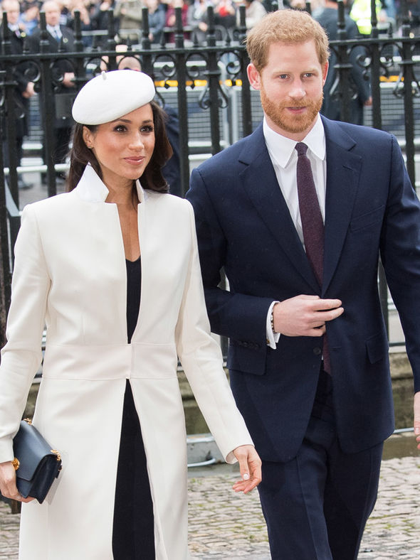 Commonwealth Day Meghan Markle and Prince Harry watched the star's performance Photo (C) GETTY