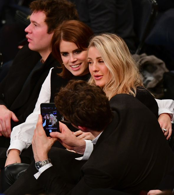 Eugenie and Ellie were spotted in New York together Photo (C) GETTY
