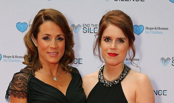 Eugenie is still pals with Natalie Photo (C) GETTY
