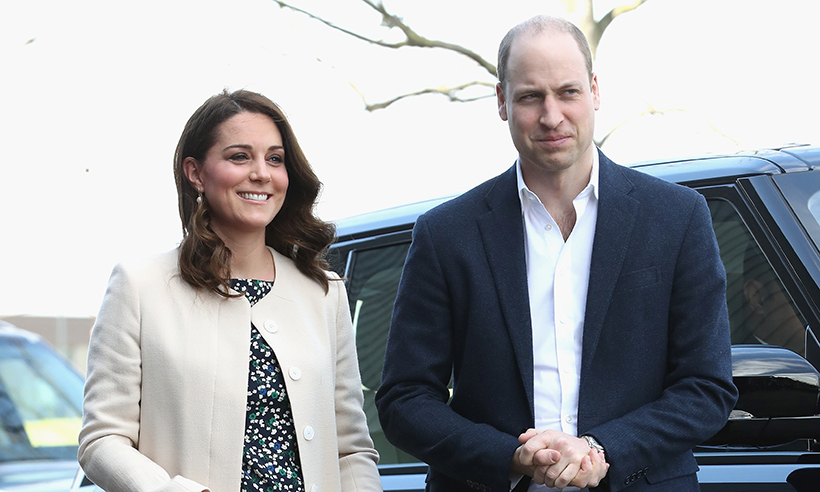 Glowing Kate Middleton steps out for last engagement before maternity leave Photo (C) GETTY