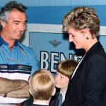 Harry has made several visits to Silverstone in the past including one with his mother Diana Photo C GETTY