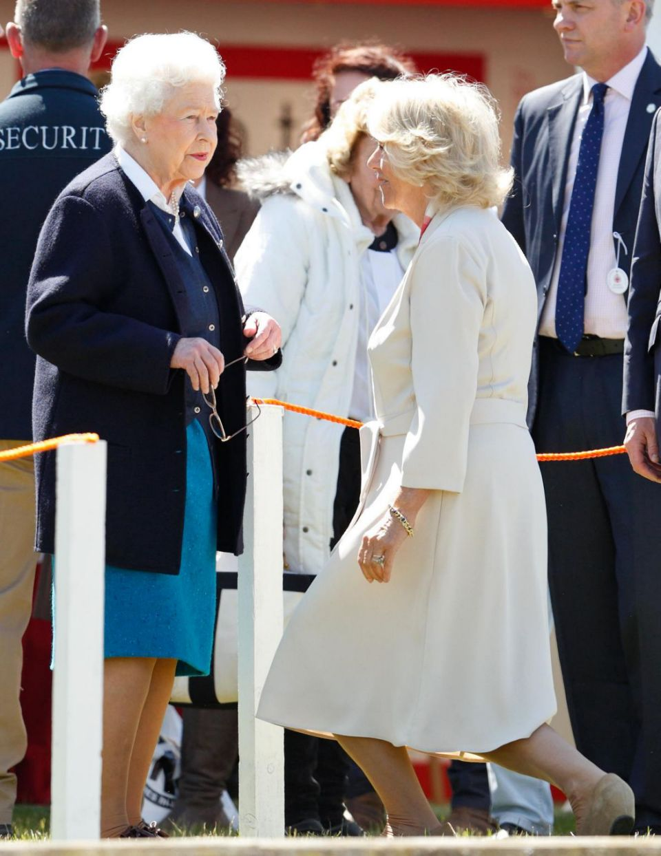 It's claimed the Queen blamed Camilla for not letting Charles try to work out his marriage to Princess Diana. Photo Getty Images