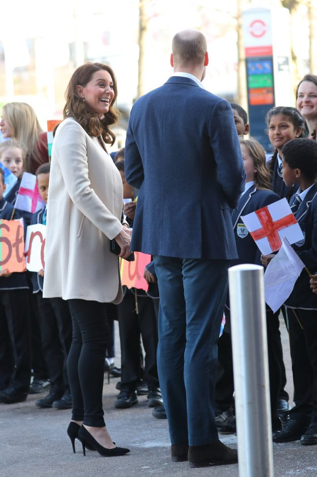 Kate Middleton and Prince William attended a SportsAid event at the Copper Box in the Olympic Park [Wenn]