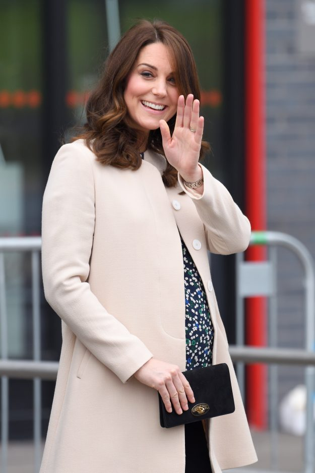 Kate Middleton, on the other hand, rarely steps out without a clutch handbag [Getty]