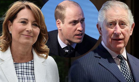 Kate Middleton's mum was snubbed by the royal family Photo (C) GETTY