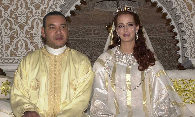 King Mohammed VI of Morocco and wife Princess Lalla Salma divorce Photo (C) GETTY