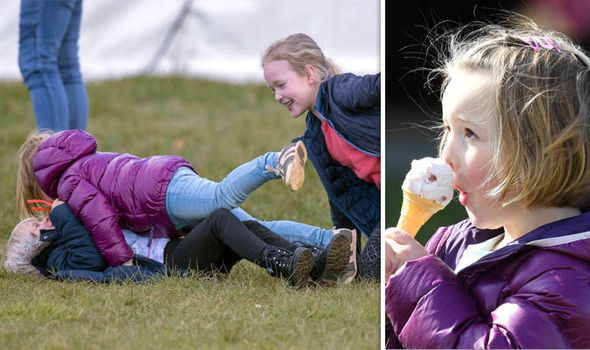 Little royal Mia Tindall tackled cousin Isla Phillips Photo (C) PA, WIRE IMAGE