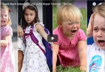 Look Back Adorable Cute Little Royal Tantrum - So Far