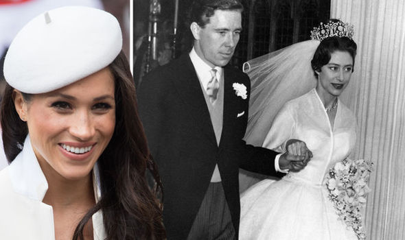 Meghan Markle's wedding dress design could be inspired by the style of the Queen's sister Margaret Photo (C) GETTY