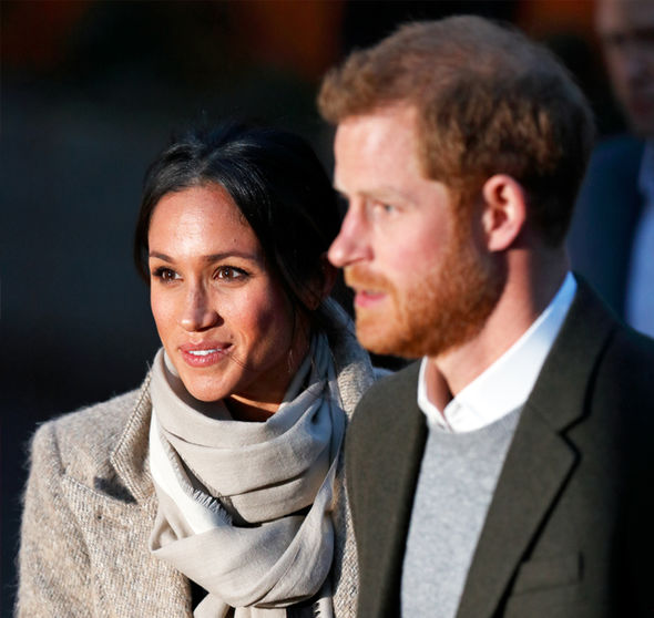 Meghan Markle Actress and Prince Harry will be in Cardiff on Thursday Photo (C) GETTY
