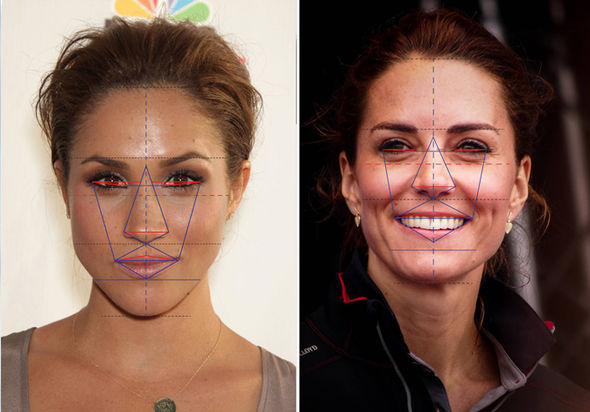 Meghan Markle Suits actress is more beautiful that Kate Middleton, above, expert claims Photo (C)Meghan Markle Suits actress is more beautiful that Kate Middleton, above, expert claims Photo (C) GETTY GETTY