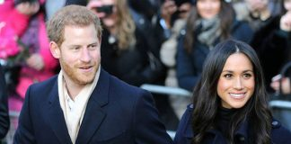 Meghan Markle and Prince Harry often put on displays of public affection Photo C EPA