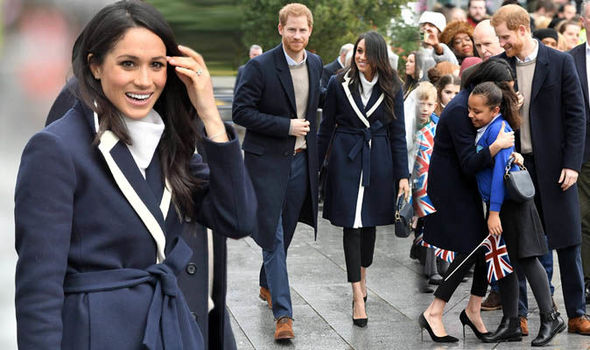 Meghan Markle and Prince Harry visit Birmingham in pictures Photo (C) GETTY