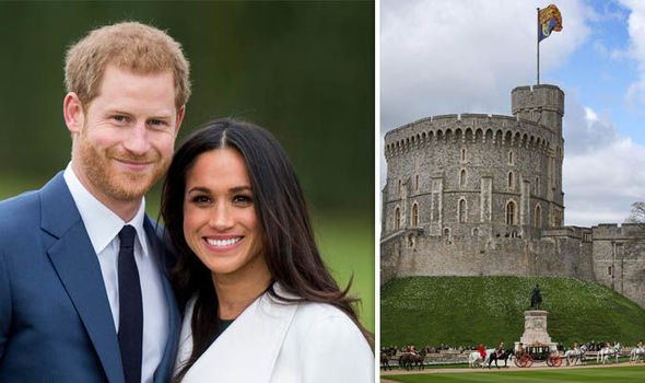 Meghan Markle and Prince Harry will be married at Windsor Castle on May 19 Photo (C) GETTY