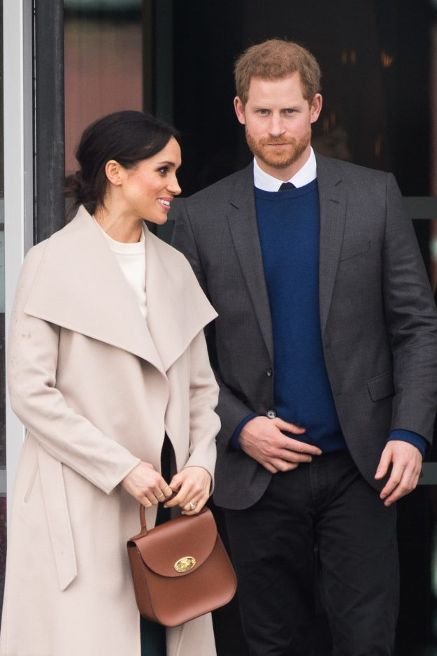Meghan Markle has stepped out with handbags instead of clutch bags during her royal engagements with Prince Harry [Getty]