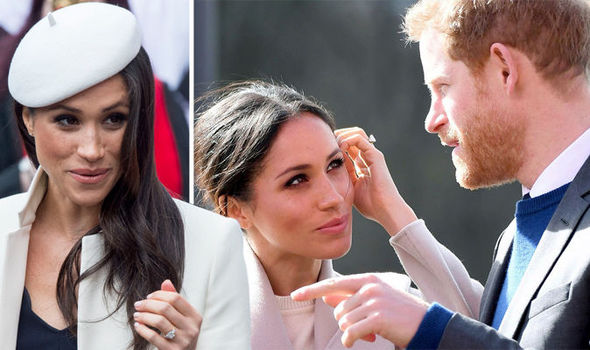 Meghan could receive her own Royal Coat of Arms before she marries Prince Harry Photo (C) GETTY