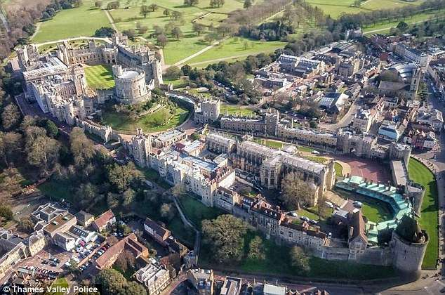 More than 100,000 people are expected to visit Windsor, Berkshire, for the big day on May 19