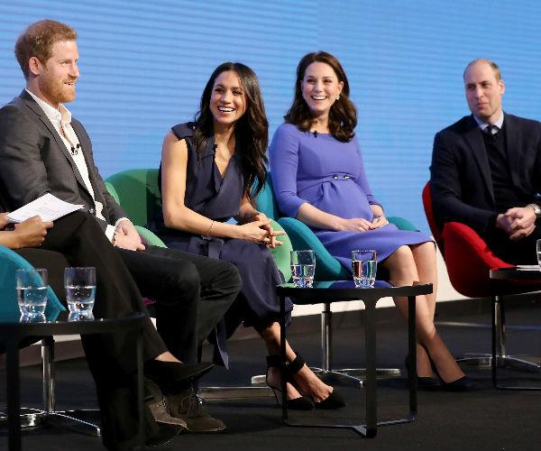 Paul says both Harry and William want big families. Photo C GETTY