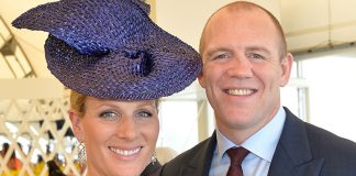 Pregnant Zara Tindall and Mike enjoy night out with Ronan and Storm Keating PHoto C GETTY
