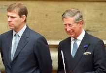 Prince Charles feared Prince Andrew would take his place as heir to the throne Photo (C) GETTY