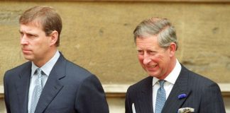 Prince Charles feared Prince Andrew would take his place as heir to the throne Photo C GETTY