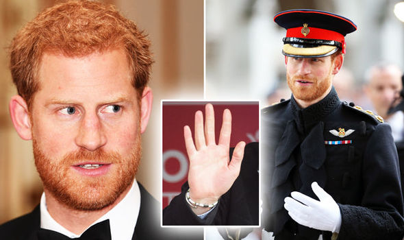 Prince Harry A palm reading expert has made an interesting discovery about him Photo (C) GETTY