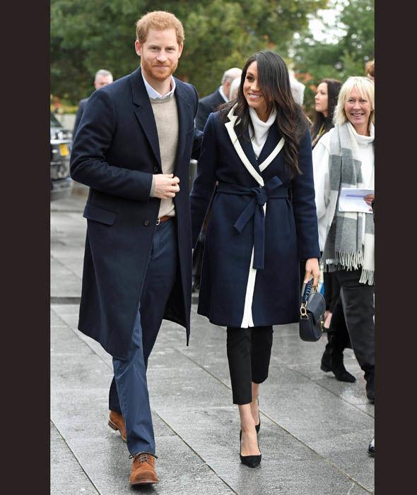 Prince Harry and Meghan Markle visit Birmingham Photo (C) PA