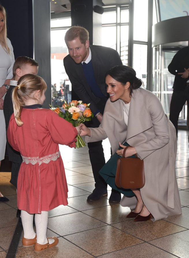 Prince Harry and Ms. Markle's last visit in Northern Ireland today was to the @TitanicBelfast, one of the world's leading tourist attractions. Photo (C) TWITTER