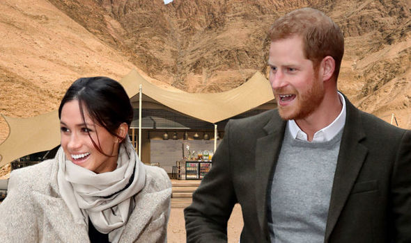 Prince Harry is expected to take his wife-to-be, Meghan Markle to a £500-a-night lodge in Namibia Photo (C) GETTY NATURAL SELECTION