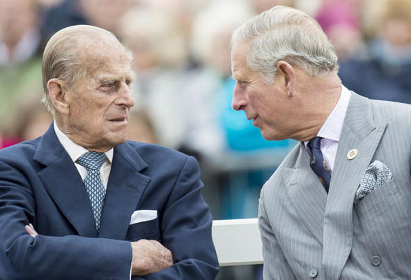 Prince Philip and Prince Charles have had a strained relationship Photo (C) GETTY
