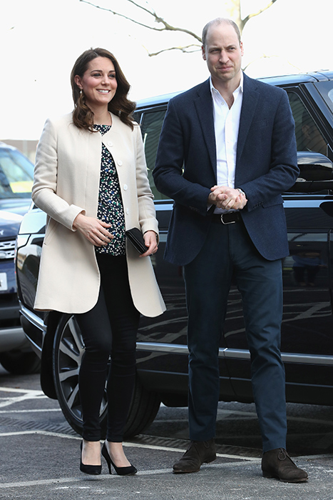 Prince William and Kate arrive at Olympic Park Photo (C) GETTY
