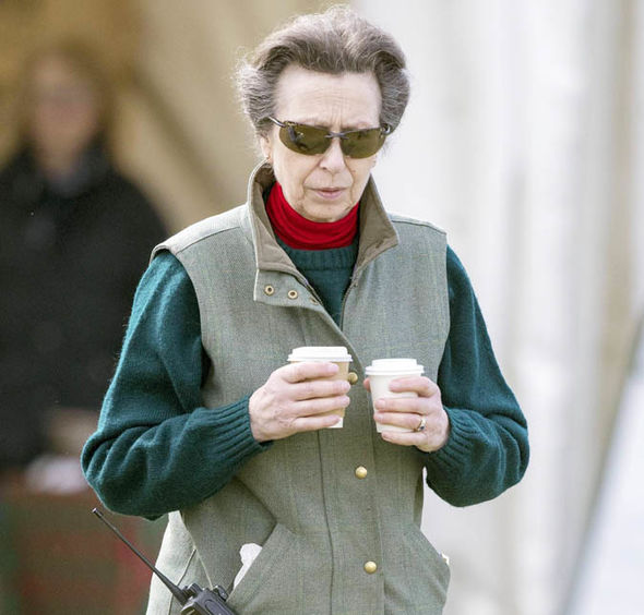 Princess Anne owns Gatcombe Park Photo (C) PA