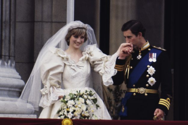 Princess Diana wore a tiara made from a family heirloom [Getty]