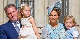 Princess Madeleine of Sweden welcomes third baby Photo C GETTY