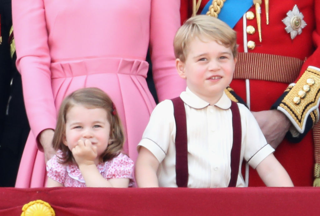 Princess Charlotte and Prince George Photo (C) GETTY