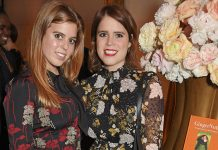 Princesses Eugenie and Beatrice step out together for Prince Christian of Hanover's wedding Photo (C) SPLASH NEWS