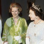 Queen Elizabeth Margaret Thatcher and the Queen had difficulty Photo (C) GETTY