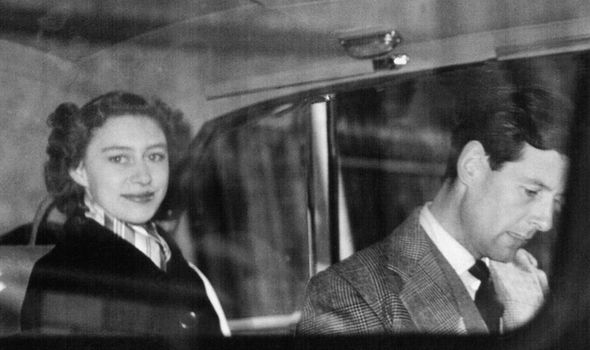 Queen Princess Margaret was forbidden to marry Peter Townsend because he was divorced Photo (C) GETTY