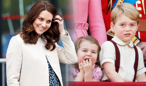 Royal Baby Kate Middleton due to get Kensington Palace honour for third child Photo (C) GETTY