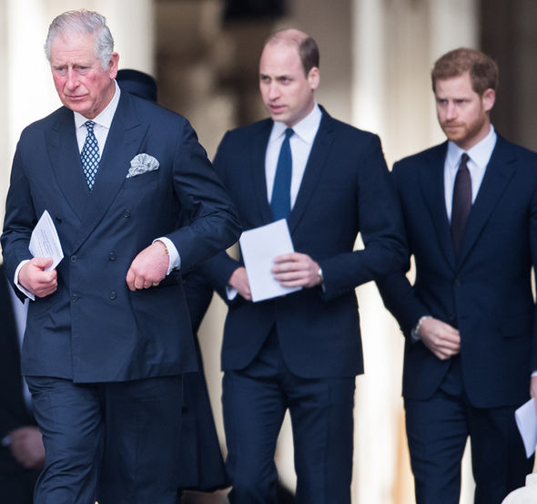 Royal news Prince Charles reportedly has a strained relationship with his sons Photo (C) GETTY