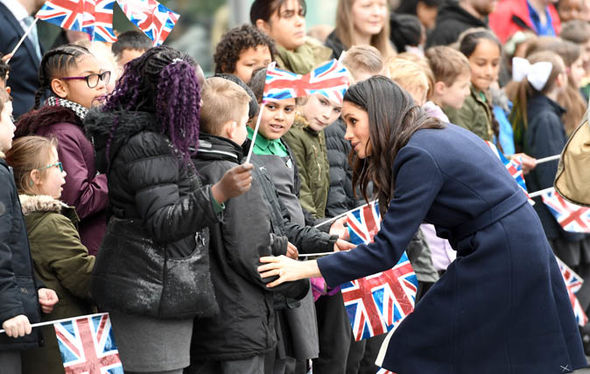 Royal wedding Meghan Markle has adopted Princess Diana's tactile approach with ordinary people Photo (C) GETTY