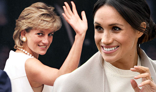 Royal wedding Meghan Markle v Princess Diana - will she be the next people's princess Photo (C) GETTY